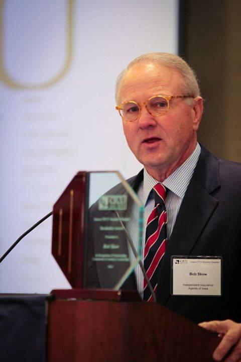 Bob Skow 2014 Burkhalter Award