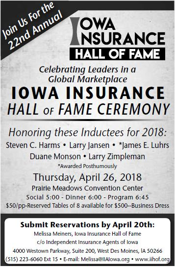 2018 Inductees
